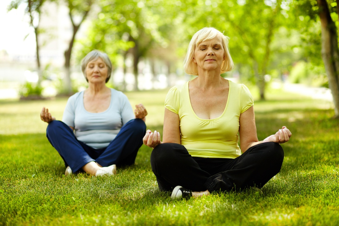 Healthy Aging: Practicing Meditation