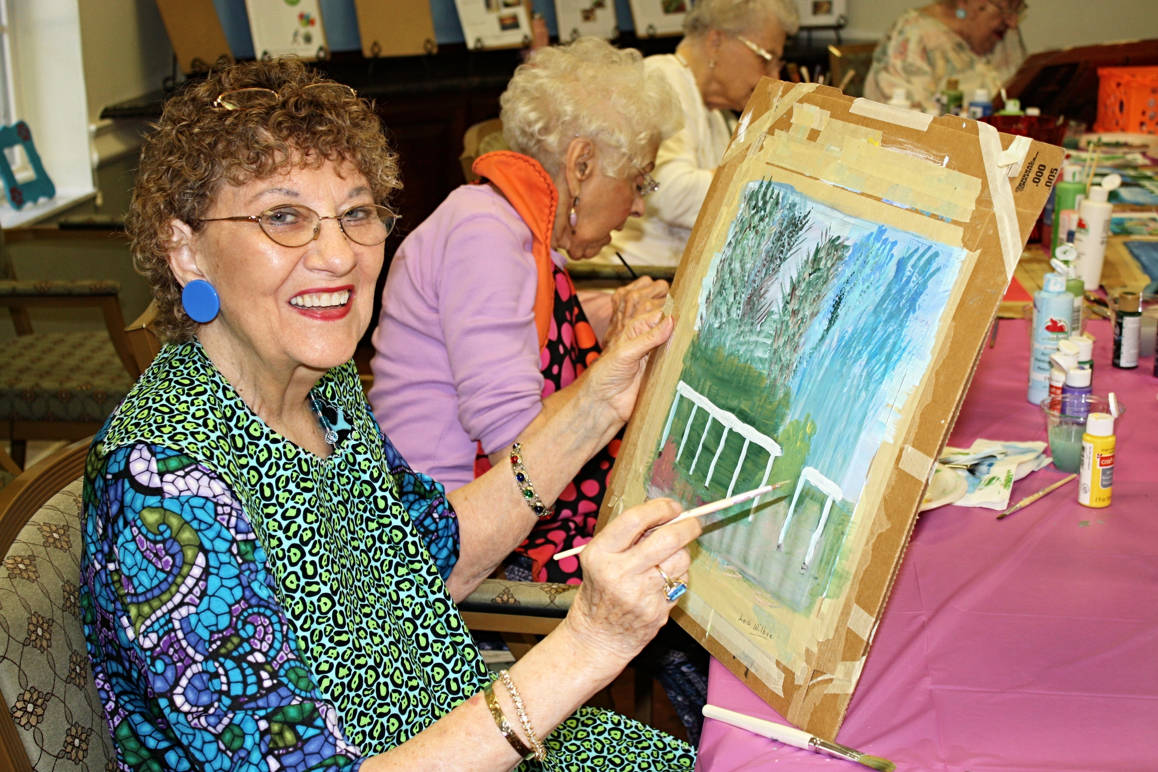 The Benefits of Art Therapy for Seniors Living with Dementia