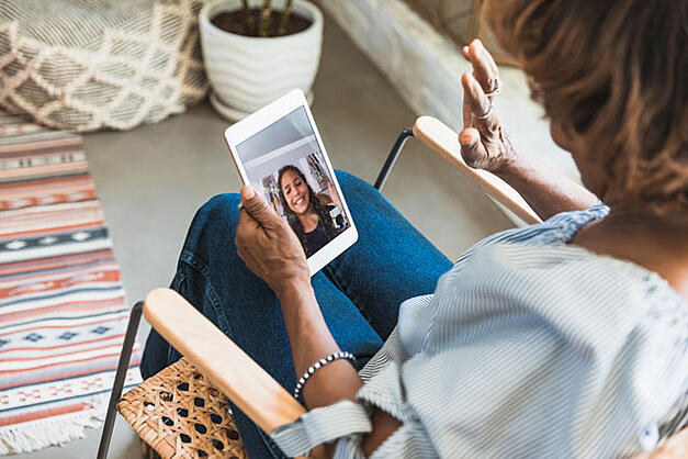 Making the Most of Virtual Visits with Seniors – The Goodman Group