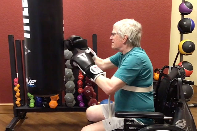 Tom E at The Lakes at Stillwater - Rock Steady Boxing – The Goodman Group