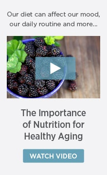 nutrition for healthy aging